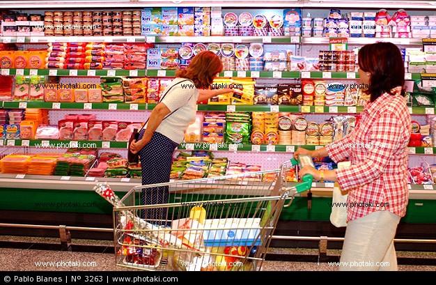 estante supermercado