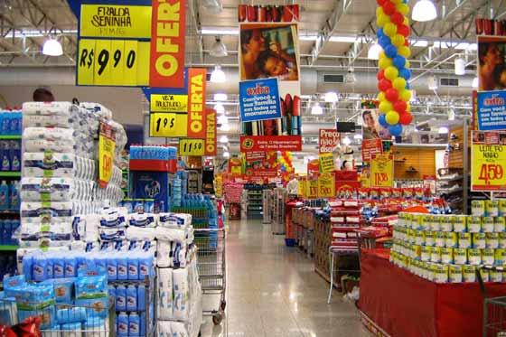 supermercado foto